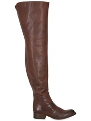El Vaquero 30Mm Over The Knee Leather Boots