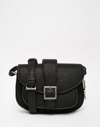 Marc B Alice Saddle Bag In Black