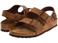 Birkenstock Milano Soft Footbed Unisex Cocoa Nubuck Shoes Brown