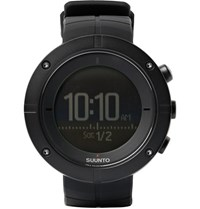 Suunto Kailash Carbon Tone Titanium And Rubber Gps Watch Black