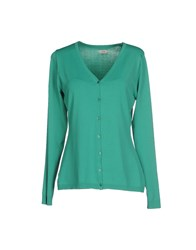 Hoss Intropia Knitwear Cardigans Women Green