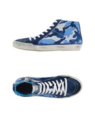 Serafini Sport High Tops And Trainers Dark Blue