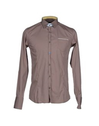Roberto Pepe Shirts Dove Grey