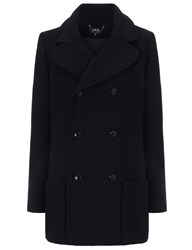 A.P.C. Navy Soho Pea Coat