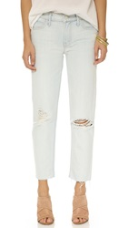 Mother The Dropout Slouchy Skinny Fray Jeans Get Blondie