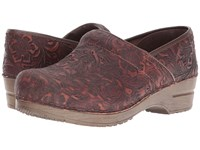 Sanita Professional Gwenore Brown Women's Clog Shoes