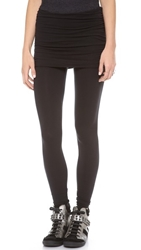 Stateside Fold Over Leggings Black