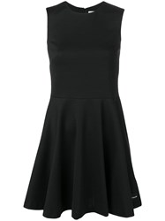 Calvin Klein Jeans Pleated Cocktail Dress Black