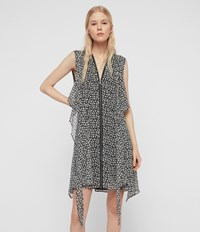 Allsaints Jayda Scatter Dress Grey