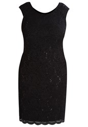 Swing Curve Cocktail Dress Party Dress Black