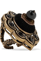 Gucci Gold Plated Black