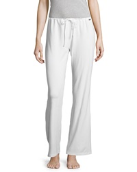 La Perla Wide Leg Drawstring Pants White