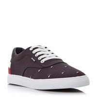 Tommy Hilfiger Jay 4D2 Logo Print Trainers Navy