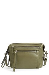 Marc By Marc Jacobs 'Cube' Leather Messenger Bag Green Military Green