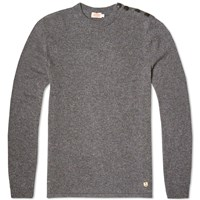 Armor Lux 73517 Heritage Crew Knit Grey