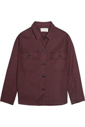 The Great Army Twill Jacket Claret