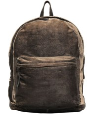 Giorgio Brato Carved Washed Leather Backpack