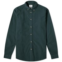 Paul Smith Button Down Corduroy Shirt Green