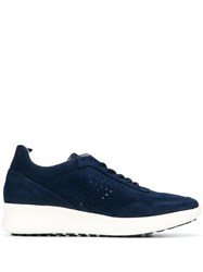 Baldinini Lace Up Sneakers Blue