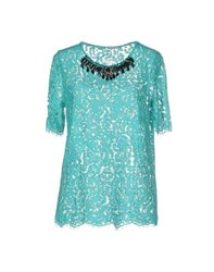 P.A.R.O.S.H. Shirts Blouses Women Turquoise