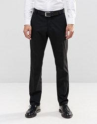Selected Homme Suit Trousers With Stretch In Slim Fit Black