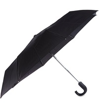 Fulton Automatic Crook Umbrella Black