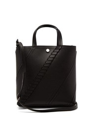 Proenza Schouler Hex Small Leather Tote Bag Black