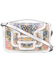Pierre Hardy Patterned Shoulder Bag Women Leather One Size