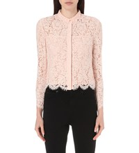 Whistles Chay Lace Shirt Pale Pink