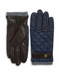 Polo Ralph Lauren Quilted Leather Accented Gloves