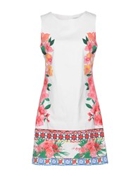 Desigual Short Dresses White