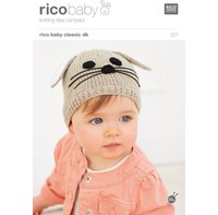 Rico Baby Classic Dk Hat Knitting Pattern 201