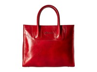 Bosca Old Leather Tote Red Handbags