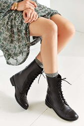 Urban Outfitters Louis Mid Toe Cap Boot Black