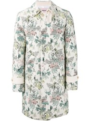 Marna Ro Floral Printed Coat Men Cotton Polyester Other Fibers S