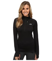 The North Face Impulse Active 1 4 Zip Pullover Tnf Black Women's Long Sleeve Pullover