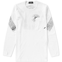 Stone Island Shadow Project Long Sleeve Mako Tee White