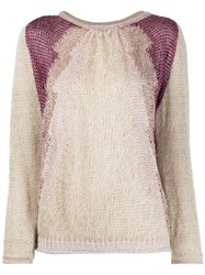 Forte Forte Relaxed Fit Panelled Jumper 60