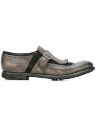 Church's Single Strap Monk Shoes Brown