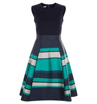 Hobbs Bella Dress Blue