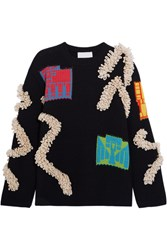 Peter Pilotto Chunky Knit Sweater Navy