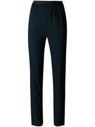 Antonio Marras Elasticated Waistband Trousers Blue
