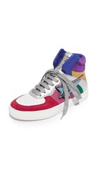 Marc Jacobs Eclipse High Top Sneakers Rainbow Multi