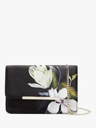 Ted Baker Jacala Floral Cross Body Bag Black