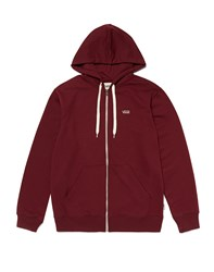 Vans Hoodie With Zip Purple
