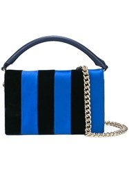 Diane Von Furstenberg Dvf East West Shoulder Bag Blue