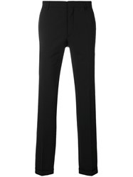 Prada Tailored Straight Leg Trousers Black