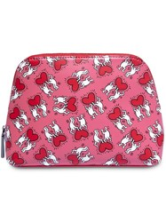 Alice Olivia Whitney Clutch Bag Pink