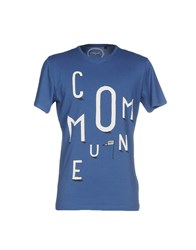 Commune De Paris 1871 T Shirts Blue