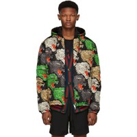 Gucci Multicolor Panther Down Jacket